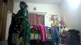 indian mom dress changing hidden cam full hd video