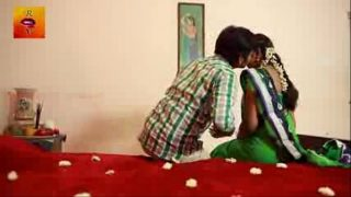 indian new couple married first night sexy video