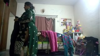 indian mom dress changing hidden cam full hd video